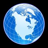 Vector globe. Stock Photo