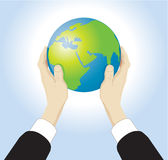 Vector Globe Stock Photos