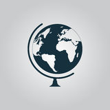 Vector globe icon Stock Photos