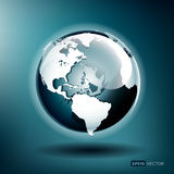 Vector Globe Royalty Free Stock Photography