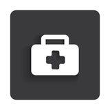 Vector glossy medical web icon design element. Stock Images