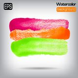 Vector glossy painting colourful background. Art. Royalty Free Stock Image