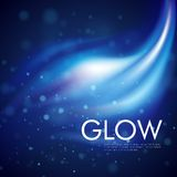 Vector glowing background Stock Image