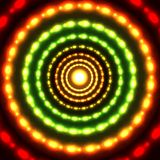 Vector glowing circle background. Vector glowing red-green circle background Stock Photography