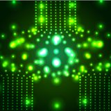 Vector glowing micro cosmos background. Eps10 Stock Photography