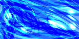 Vector glowing water background made of blue sea lines. For registration of paper or banners vector illustration
