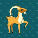 Vector goat Royalty Free Stock Photography