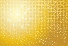 Vector gold background vector illustration