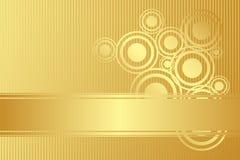Vector gold background Stock Photos
