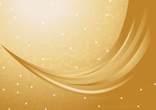 Vector gold background Stock Images