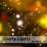 Vector gold bokeh abstraction background. Glitter defocused illustration Royalty Free Stock Photography