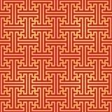 Swastika ornament seamless pattern Stock Photos
