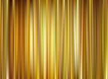 Vector gold curtain. Closed gold theater curtain, silk background, vector illustration Stock Image