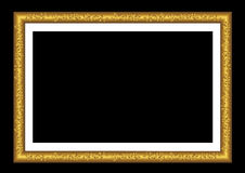 Vector gold frame. Stock Images