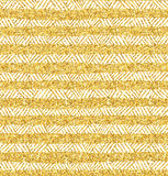 Vector gold glittering seamless pattern. Royalty Free Stock Photo