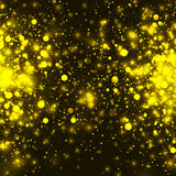 Vector gold glowing light glitter background. Christmas magic lights background. Vector gold glowing light glitter background. Christmas golden magic lights royalty free illustration