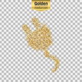 Vector gold icon Royalty Free Stock Photography