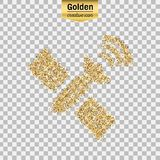 Vector gold icon Stock Photos
