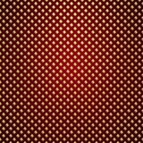 Vector gold lattice on red background. Vector gold lattice pattern on dark red background Royalty Free Stock Images