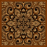 Vector gold ornament. Vector vintage pattern for print, embroidery (you can use this pattern for carpet, shawl, pillow, cushion Royalty Free Stock Photography