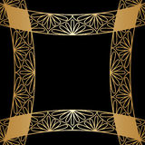 Vector gold ornament. Vector vintage pattern for print, embroidery (you can use this pattern for carpet, shawl, pillow, cushion Stock Image