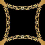Vector gold ornament. Vector vintage pattern for print, embroidery (you can use this pattern for carpet, shawl, pillow, cushion Stock Photos