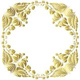Vector gold pattern Stock Photo