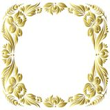 Vector gold pattern Royalty Free Stock Image