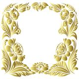 Vector gold pattern Royalty Free Stock Photo
