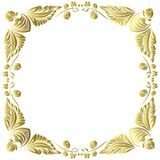 Vector gold pattern Stock Images