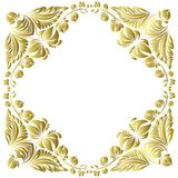 Vector gold pattern Stock Photography