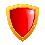 Vector shield icon Royalty Free Stock Photos