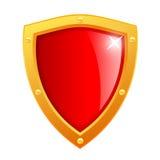 Vector shield icon Royalty Free Stock Photos