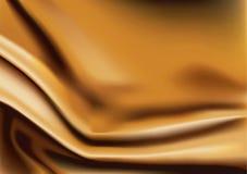 Vector of Gold silk background Stock Photos