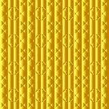 Vector gold texture. Pattern of geometric shapes. Royalty Free Stock Photography