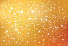 Vector golden background. Stock Photography