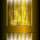 Vector golden background Royalty Free Stock Photography