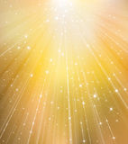 Vector golden background. Royalty Free Stock Images
