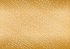 Vector golden background from star. Cli-art Royalty Free Stock Images