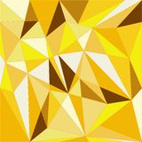 Golden geometric background Royalty Free Stock Photo