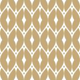 Vector golden mesh seamless pattern. Gold and white luxury background. Vector golden mesh seamless pattern. Subtle abstract geometric ornament texture with thin stock illustration