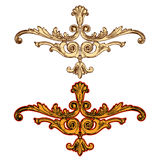 Vector golden ornaments Stock Photography
