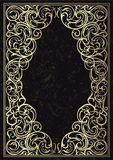 Vector golden ornate frame. Stock Photography