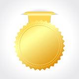Vector golden seal Stock Photo