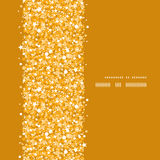 Vector golden shiny glitter texture vertical frame Stock Photo