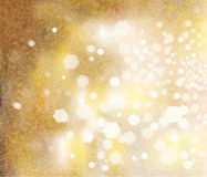 Vector golden sparkling background. Royalty Free Stock Images
