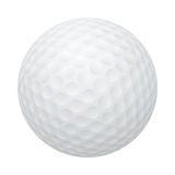 Vector golf ball isolated on white Stock Image