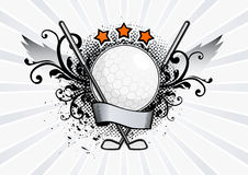 Vector Golf Emblem Royalty Free Stock Photography