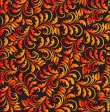 Vector golgen tulip pattern Stock Photo