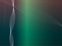 Vector Golven in de Kleuren van de Disco vector illustratie